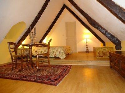 Attic double Queensize bedroom