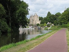 Josselin - view from the canal