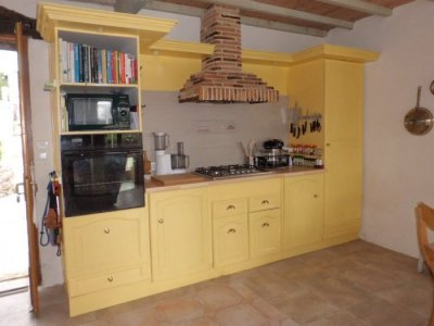 Cooking area of Kitchen
