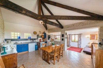 Le Marronnier - large kitchen/diner