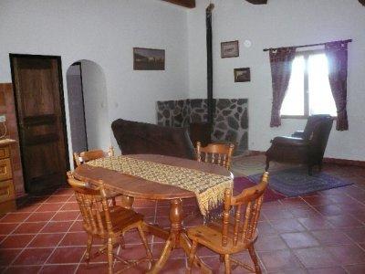 Living area Gîte