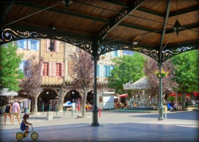 Lovely Square in Mirepoix