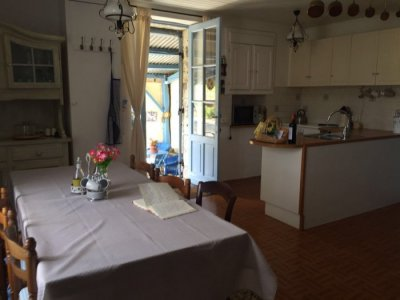 Kitchen/dining room in gite