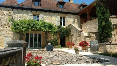 La Lezardiere - the gîte is at ground level for easy access