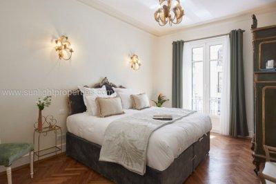 Master bedroom with Super King size bed and en-suite shower