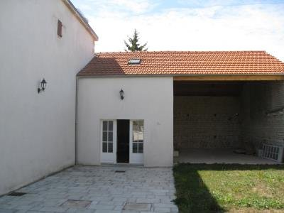 Rear of the property