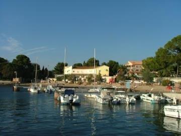 Boulouris harbour