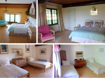 4 light and spacious bedrooms
