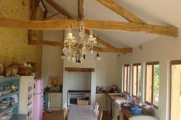 Large double vaulted kitchen