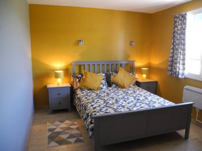 Refurbished double bedroom