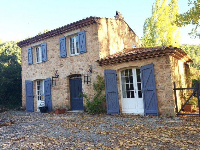 Long Term Lets In Var Charming Country Stone Cottage In